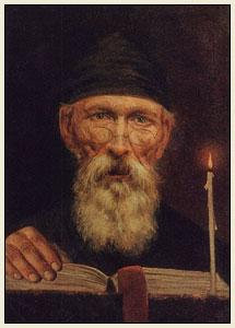 Василий Андреевич Тропинин Монах со свечой