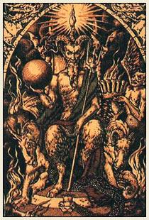 Сатана, повелитель черных магов