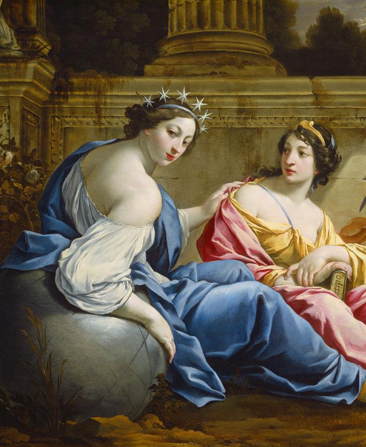 Урания, муза астрологии и астрономии